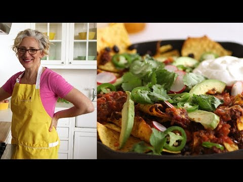 Skillet Chili Nachos- Everyday Food with Sarah Carey