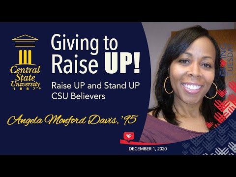 Giving to Raise UP! - Alumna Angela Monford-Davis '95