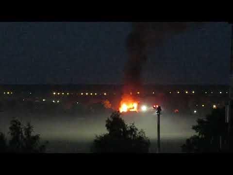 В Сыктывкаре ночью тушили дом по Малой Авиационной