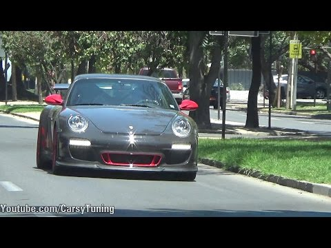 Porsche 911 997 GT3 RS Mk2 w/ Akrapovic Exhaust Sounds PERFECT