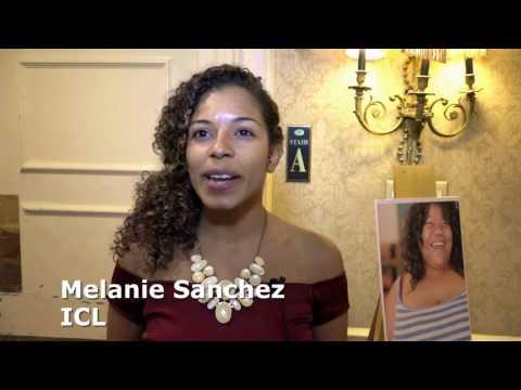 Melanie Sanchez at ICL's 30th Anniversary Gala