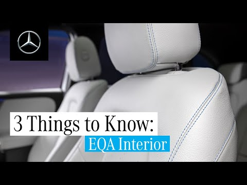 3 Things about the New EQA | Interior