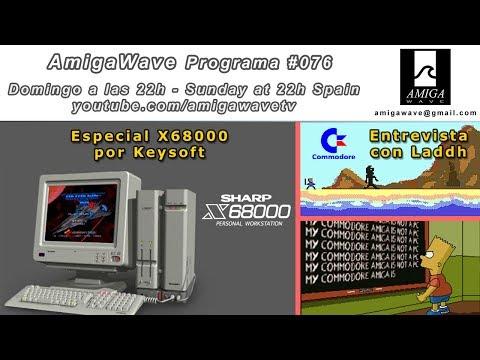 Programa #76 - Sharp X68000 por Keysoft, Entrevista con Laddh dev C64,  respuestas por alusiones ...