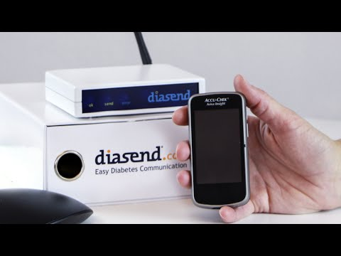 diasend® Clinic - Uploading Roche Accu-Chek Insight insulin pump
