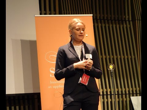 Evelina Vågesjö, Ilya Pharma pitch, UIC-dagen 2017