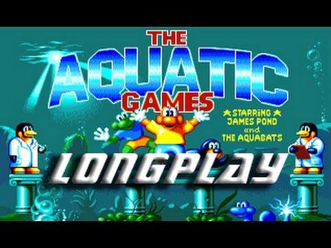 Aquatic Games (CommodoreAmiga) Longplay