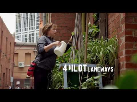 City of Melbourne | Greening Your Laneways Video Production