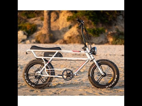 2019 New Design Model -- Addmotor 750W Retro Electric Cruiser Fat Bike