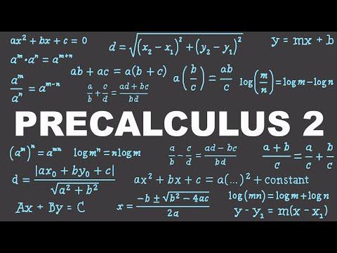 Precalculus 2