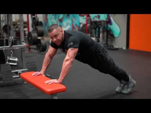How to Perform an Incline Pushup