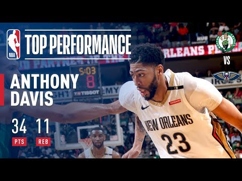 connectYoutube - Anthony Davis Continues His STRONG Play Against The Celtics