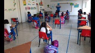 Clases presenciales en colegios de Guatemala