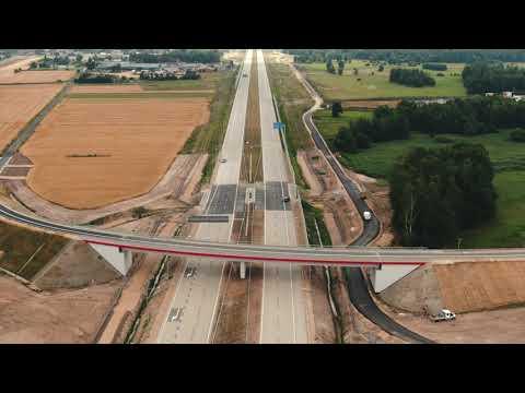 32 kilometry autostrady A1 wybudowane przez STRABAG