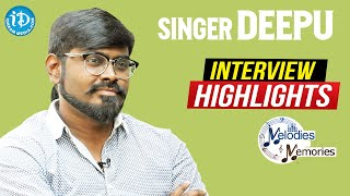 Singer Deepu Exclusive Interview Highlights | Melodies And Memories | iDream Movies - IDREAMMOVIES