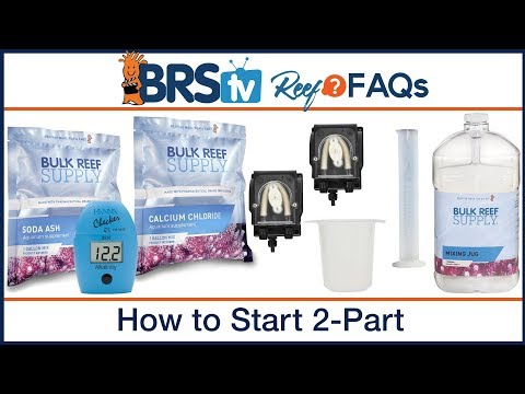 How to select the initial 2 part dose for my reef tank? | ReefFAQs