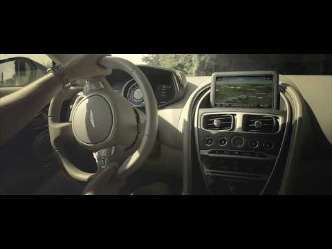 Infotainment system and interior controls | Aston Martin DB11