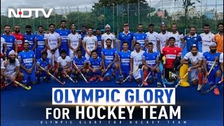 How Indian Men's Hockey Team Ended 41-Year Wait For Olympic Medal In Tokyo | The News - NDTV
