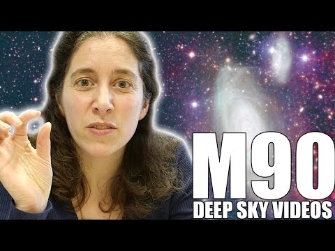 Jellyfish Galaxy (Messier 90) - Deep Sky Videos