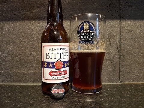 Lilla London Bitter By Göteborgs Nya Bryggeri | Swedish Craft Beer Review