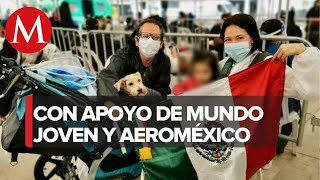 SRE repatria a 151 mexicanos varados en Chile y Perú por coronavirus