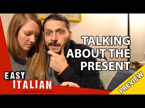 Talking about the present in Italian (Trailer) | Super Easy Italian 6 photo