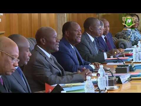 Compte rendu du Conseil des Ministres du 24 janvier 2018