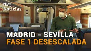 De Madrid a Sevilla en tiempos de coronavirus. Un recorrido con Carlos Franganillo