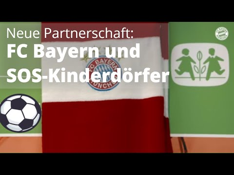 FC Bayern und SOS-Kinderdörfer schließen Kooperation