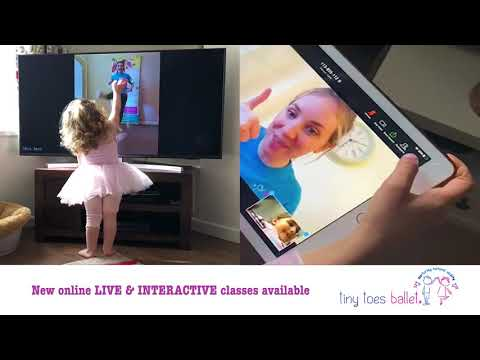 Our classes are LIVE ONLINE