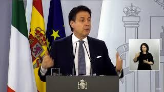 DIRECTO #CORONAVIRUS | Rueda de prensa de Pedro Sánchez y Giuseppe Conte