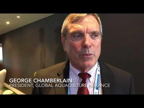 George Chamberlain, Global Aquaculture Alliance