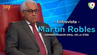 Martín Robles: ETED ha instalado más de 1000 KM de fibra óptica | Hoy Mismo