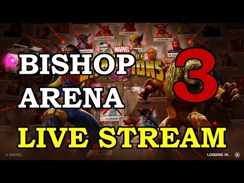 connectYoutube - Bishop Arena - Part 3 | Marvel Contest of Champions Live Stream