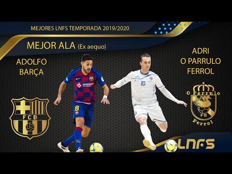 Adri y Adolfo, Trofeo 'Mejor Ala' de la LNFS la Temporada 2019/20