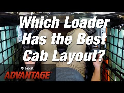 Cab Layout: Bobcat vs. Other Loader Brands