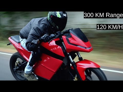 300KM Range Electric Motorcycle Launching in India 2020 - Surge