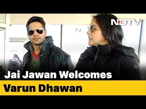 Jai Jawaan: Varun Dhawan Travels To Jodhpur WIth NDTV
