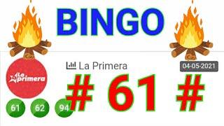 SORTEOS de HOY....!!  loteria LA PRIMERA/ BINGO HOY (( 61 )) Números RECOMENDADOS para HOY...!!