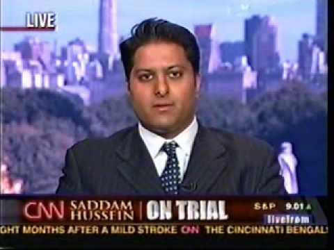 Rahul Manchanda on CNN (Trial of Saddam Hussein) - 4