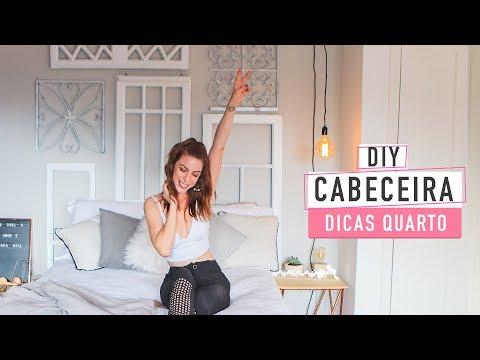 DIY Quarto Decor – Cabeceira