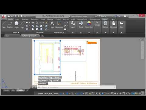 AutoCAD: Plotting & Publishing | Viewport scale and annotation scale