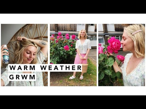 {AD} CHATTY WARM WEATHER GET READY WITH ME | Estée Lalonde