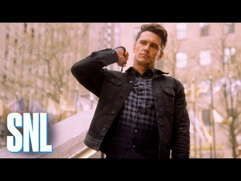 connectYoutube - SNL Host James Franco Is a Natural