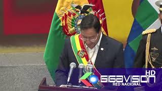 #LAPAZ PDTE. ARCE DESTACA INCLUSIÓN EN DIA DEL ESTADO PLURINACIONAL Y RATIFICA QUE HUBO GOLPE ESTADO