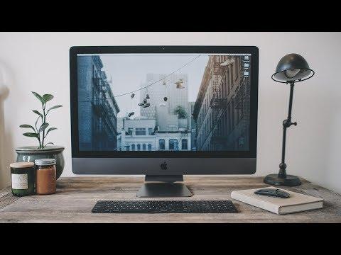 Video editing on the iMac Pro