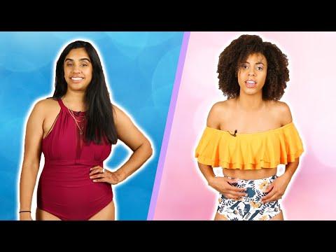 Women Try Amazon's Best Selling Swimsuits