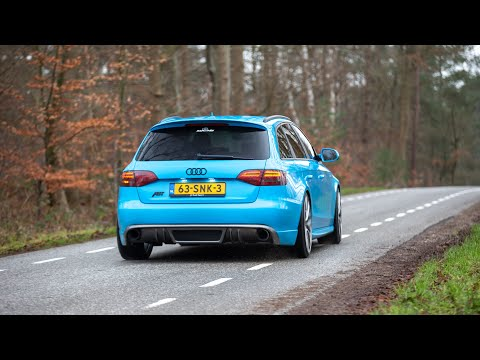 360HP Stage 4 ABT Audi A4 1.8 TFSI - LOUD Accelerations & Revs !