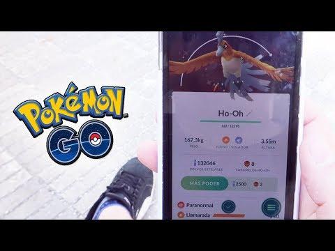 ¡CAPTURO Ho-Oh SHINY a AMIGO SUSCRIPTOR en Pokémon GO! NUEVO LEGENDARIO SHINY!! [Keibron]