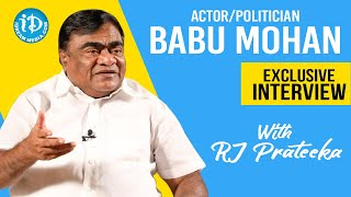 Actor - Politician Babu Mohan Exclusive Full Interview | Talking Movies With iDream | RJ Prateeka - IDREAMMOVIES