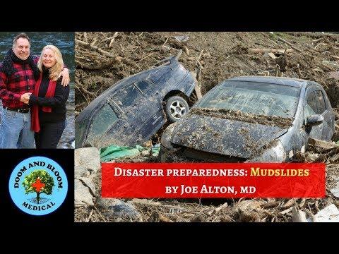 Mudslides: Disaster Survival Preparedness